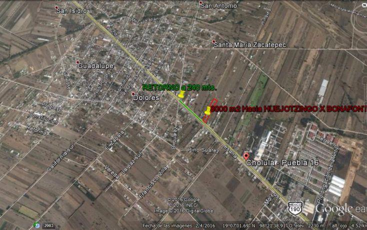 Foto de terreno habitacional en venta en, real de huejotzingo, huejotzingo, puebla, 1977158 no 04