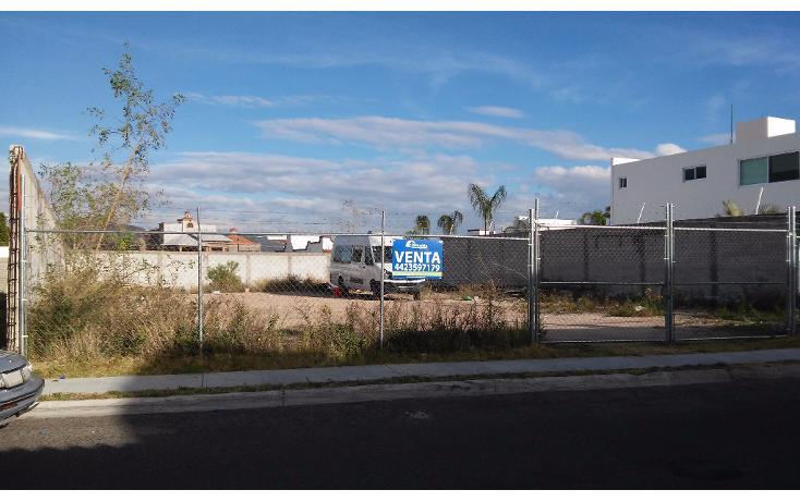 Foto de terreno habitacional en venta en  , real de juriquilla (diamante), querétaro, querétaro, 1380457 No. 01