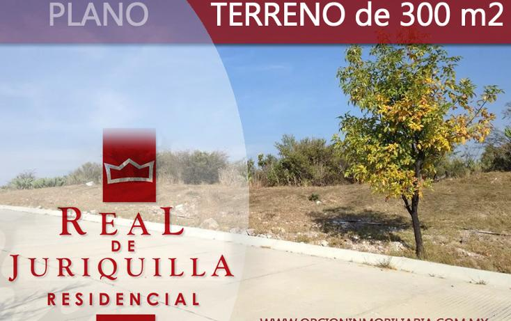 Foto de terreno habitacional en venta en  , real de juriquilla (diamante), querétaro, querétaro, 1950689 No. 01