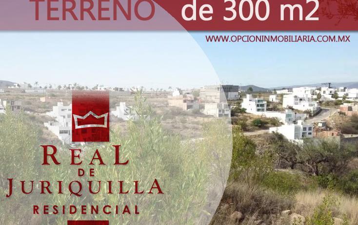 Foto de terreno habitacional en venta en  , real de juriquilla (diamante), querétaro, querétaro, 1950689 No. 02