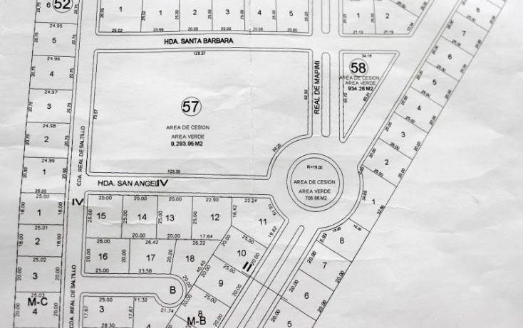 Foto de terreno habitacional en venta en real de mapimi no59 59, el tajito, torreón, coahuila de zaragoza, 1944820 no 02