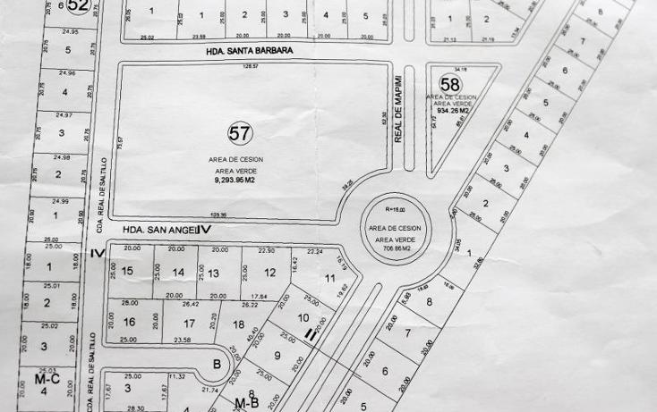 Foto de terreno habitacional en venta en real de mapimi numero 59 59, villas las margaritas, torre?n, coahuila de zaragoza, 1944820 No. 06