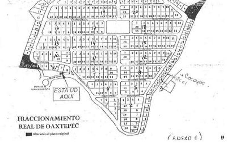 Foto de terreno habitacional en venta en  , real de oaxtepec, yautepec, morelos, 1267789 No. 03