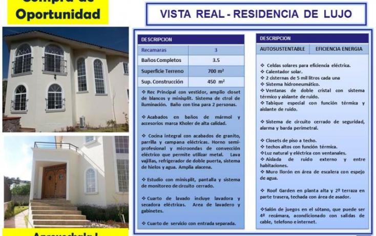 Foto de casa en venta en real del bosque 1, ampliación huertas del carmen, corregidora, querétaro, 770851 no 01