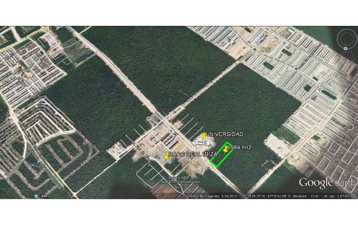Foto de terreno comercial en venta en  , real ibiza, solidaridad, quintana roo, 1117091 No. 02