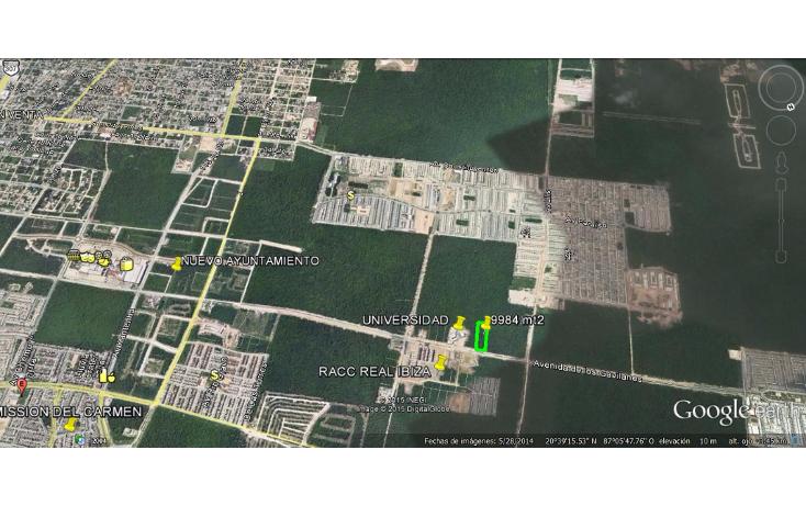 Foto de terreno comercial en venta en  , real ibiza, solidaridad, quintana roo, 1117091 No. 03