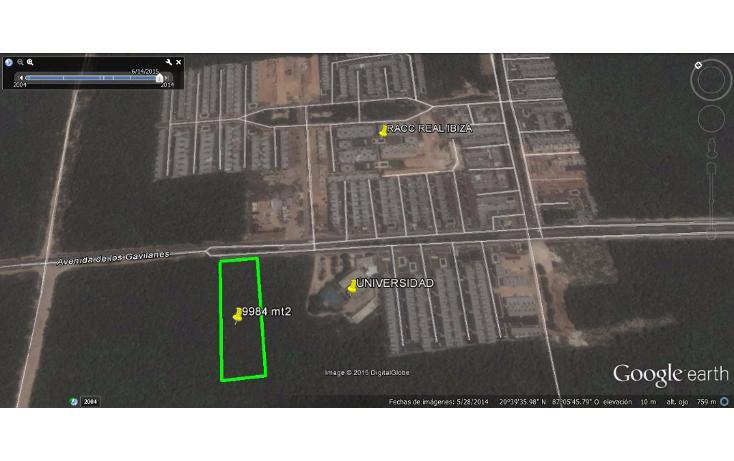 Foto de terreno comercial en venta en  , real ibiza, solidaridad, quintana roo, 1117091 No. 05