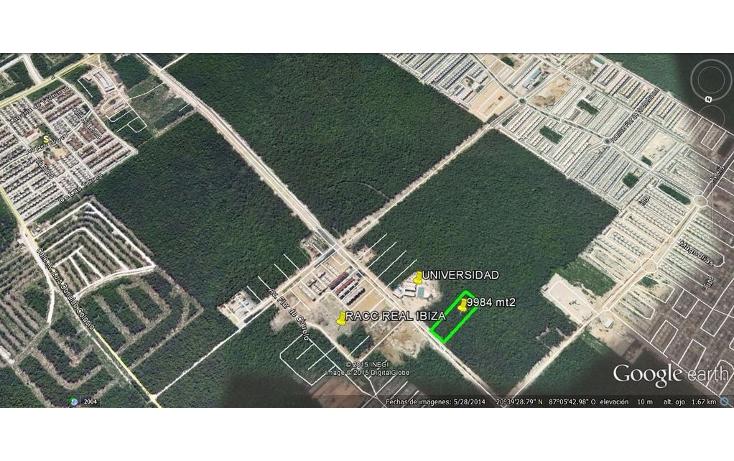Foto de terreno comercial en venta en  , real ibiza, solidaridad, quintana roo, 1129963 No. 01