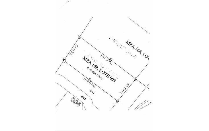 Foto de terreno comercial en venta en  , real ibiza, solidaridad, quintana roo, 1129963 No. 02