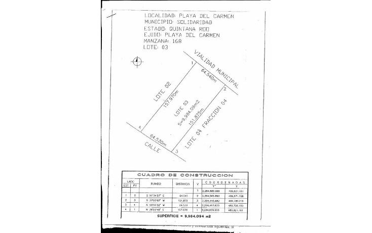 Foto de terreno comercial en venta en  , real ibiza, solidaridad, quintana roo, 1129963 No. 06