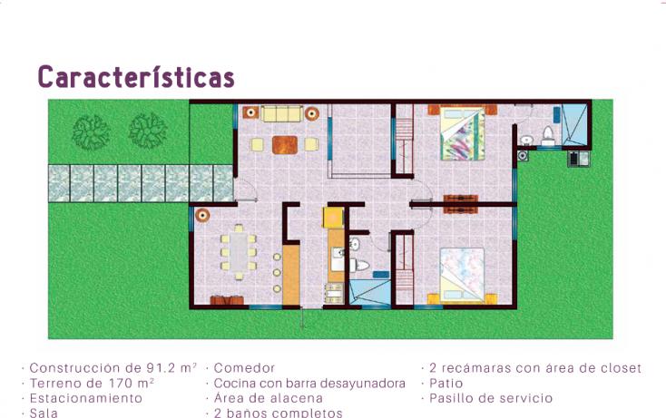 Foto de casa en venta en, real montejo, mérida, yucatán, 1129889 no 06