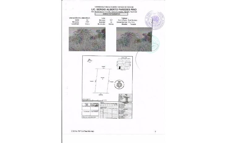 Foto de terreno habitacional en venta en  , real montejo, m?rida, yucat?n, 1724806 No. 01