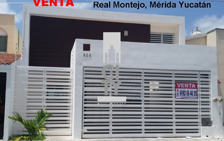 Foto de casa en venta en  , real montejo, m?rida, yucat?n, 1959067 No. 01