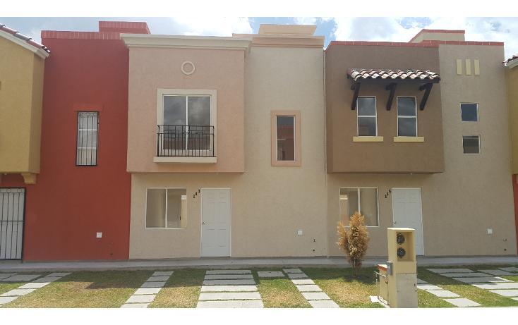 Foto de casa en renta en  , real toledo fase 4, pachuca de soto, hidalgo, 1554284 No. 01
