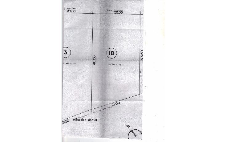 Foto de terreno habitacional en venta en  , reforma, cuernavaca, morelos, 1855926 No. 01
