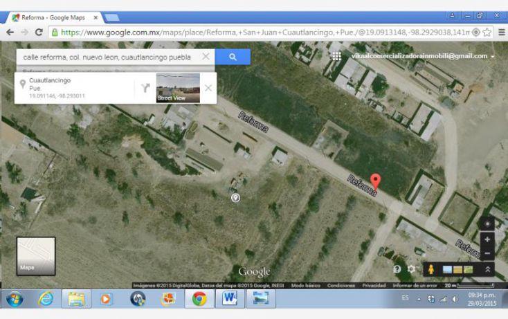 Foto de terreno comercial en venta en reforma, nuevo león, cuautlancingo, puebla, 1002047 no 05