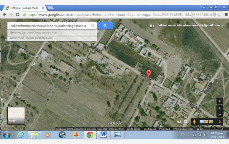 Foto de terreno comercial en venta en reforma, nuevo león, cuautlancingo, puebla, 1002047 no 06