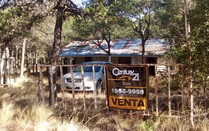Foto de rancho en venta en refugio, los llanos, arteaga, coahuila de zaragoza, 1720160 no 01