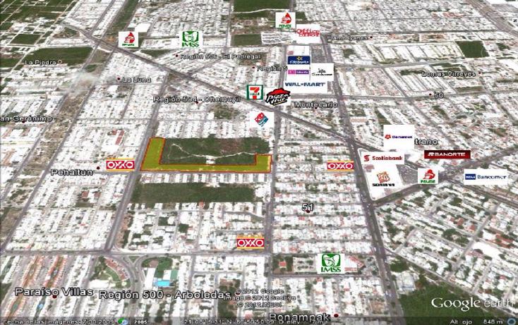 Foto de terreno comercial en venta en  , región 504, benito juárez, quintana roo, 1321093 No. 01