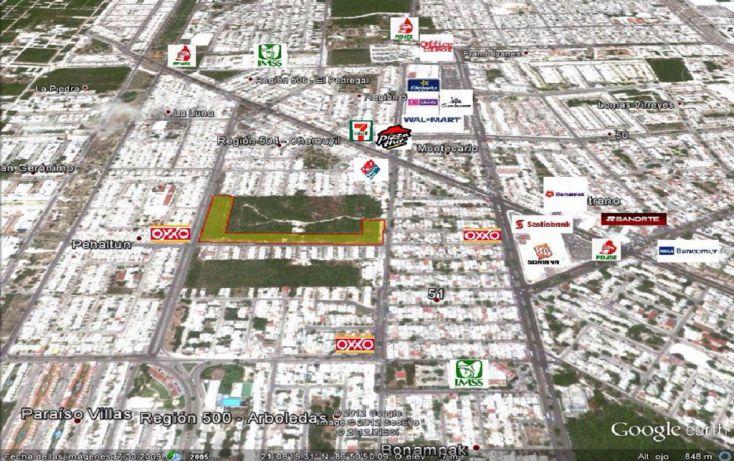 Foto de terreno comercial en venta en, región 504, benito juárez, quintana roo, 947367 no 01
