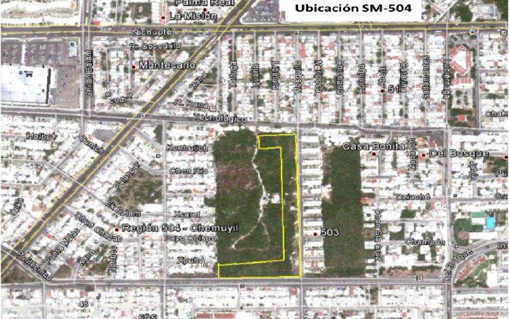 Foto de terreno comercial en venta en, región 504, benito juárez, quintana roo, 947367 no 02