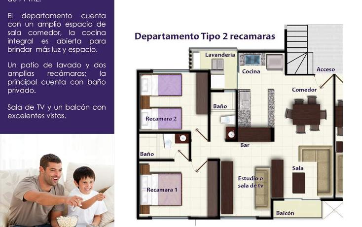 Foto de departamento en venta en  , región 511, benito juárez, quintana roo, 2000532 No. 03