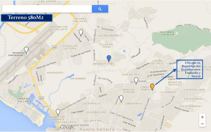 Foto de terreno comercial en venta en republica del ecuador, brisas del pacifico, puerto vallarta, jalisco, 1441217 no 01