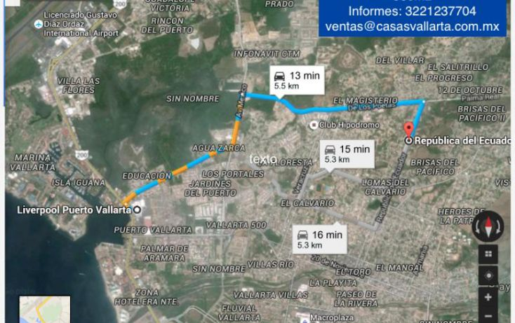 Foto de terreno comercial en venta en republica del ecuador, brisas del pacifico, puerto vallarta, jalisco, 1441217 no 03