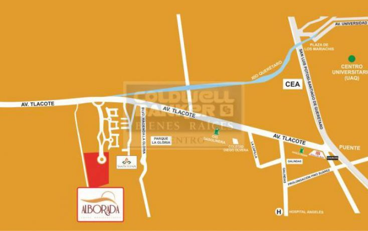 Foto de terreno habitacional en venta en residencial alborada, carolina, querétaro, querétaro, 643049 no 01