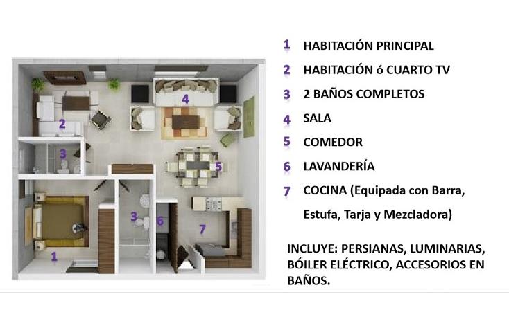 Foto de departamento en venta en  , residencial aztlán, monterrey, nuevo león, 1133557 No. 02