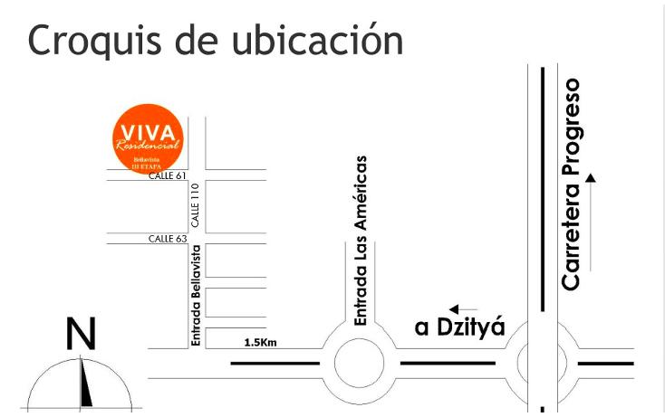 Foto de casa en venta en residencial bellavista dzitya , dzitya, mérida, yucatán, 450696 No. 15