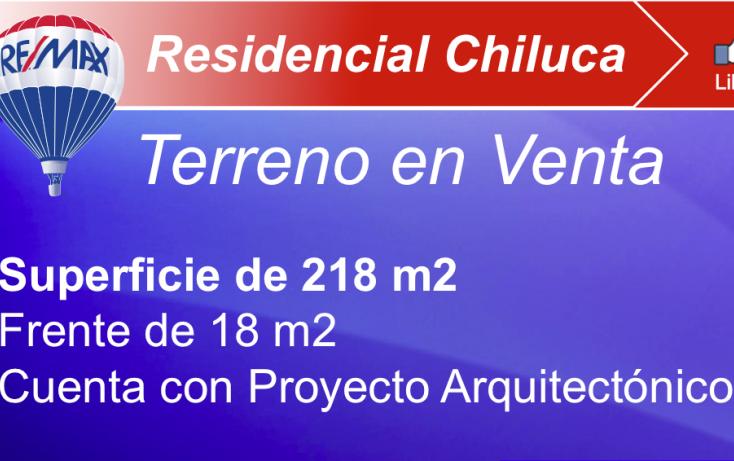 Foto de terreno habitacional en venta en, residencial campestre chiluca, atizapán de zaragoza, estado de méxico, 1198029 no 01