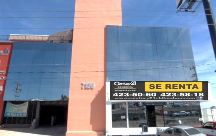 Foto de oficina en renta en  , residencial cumbres i, chihuahua, chihuahua, 1183761 No. 01