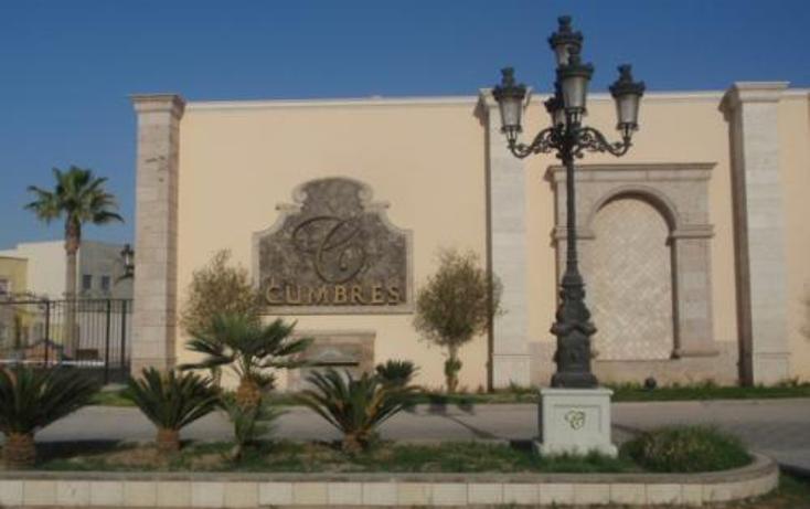 Foto de terreno habitacional en venta en  , residencial cumbres, torre?n, coahuila de zaragoza, 397989 No. 02