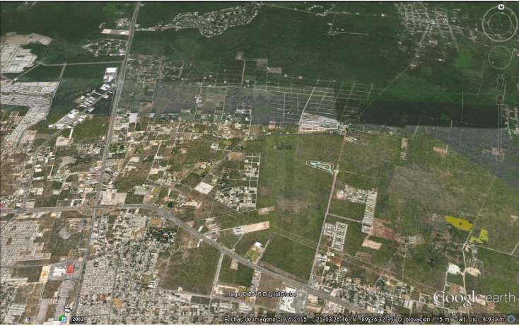 Foto de terreno habitacional en venta en  , residencial del mayab, m?rida, yucat?n, 1562758 No. 02