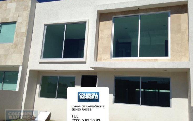 Foto de casa en condominio en venta en residencial el capulin, santa maría xixitla, san pedro cholula, puebla, 1850056 no 01