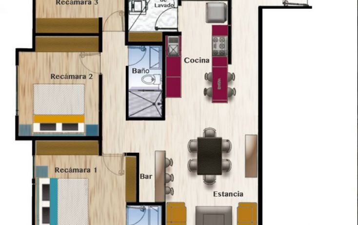 Foto de departamento en venta en, residencial el refugio, querétaro, querétaro, 1125201 no 25