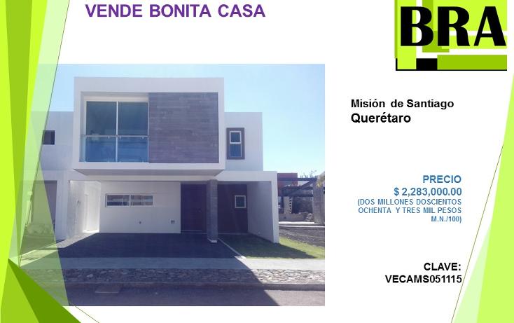 Foto de casa en venta en  , residencial el refugio, querétaro, querétaro, 1454569 No. 01