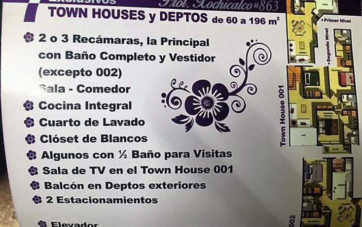 Foto de departamento en venta en  , residencial emperadores, benito juárez, distrito federal, 1343737 No. 02