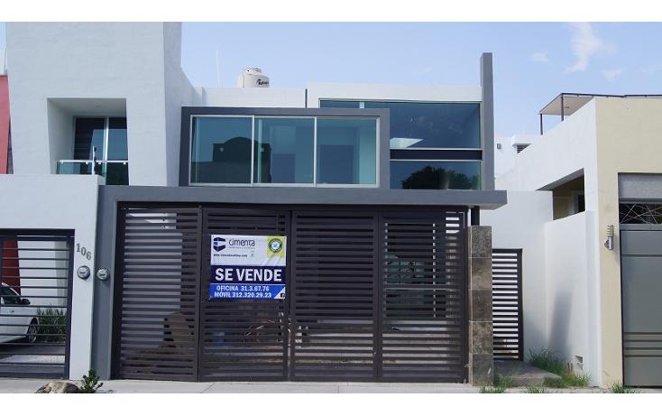 Foto de casa en venta en  , residencial esmeralda norte, colima, colima, 1198221 No. 01