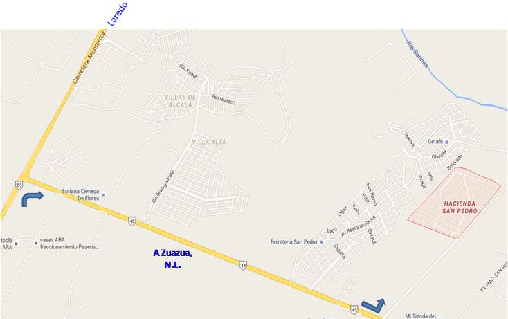 Foto de terreno habitacional en venta en  , residencial hacienda san pedro, general zuazua, nuevo león, 1444445 No. 08