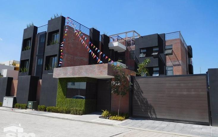 Foto de departamento en venta en  , residencial la carcaña, san pedro cholula, puebla, 2045002 No. 01