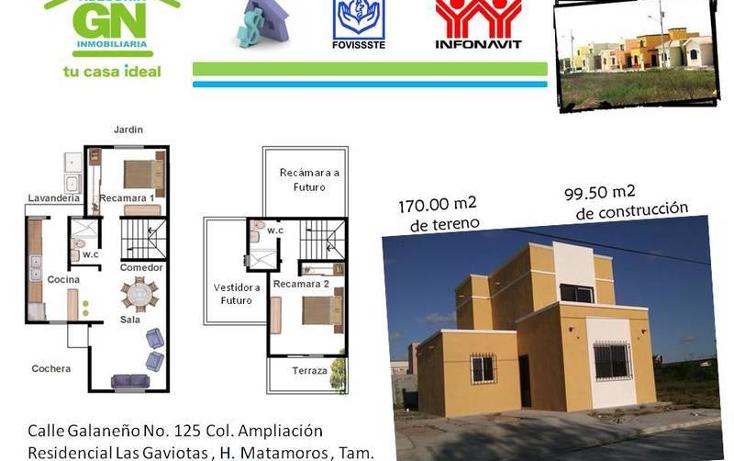 Foto de casa en venta en  , residencial las gaviotas, matamoros, tamaulipas, 1097475 No. 02