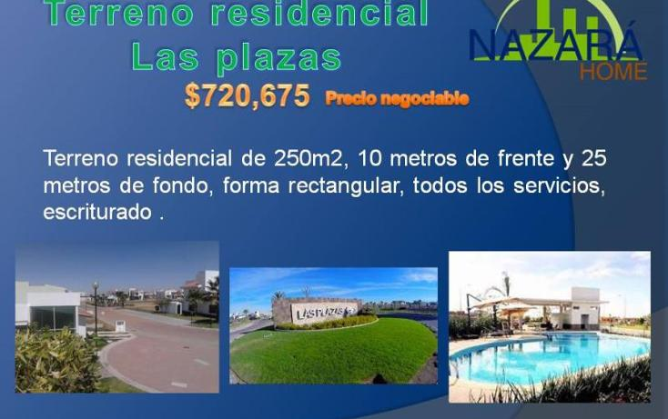 Foto de terreno habitacional en venta en  , residencial las plazas, aguascalientes, aguascalientes, 1104383 No. 04