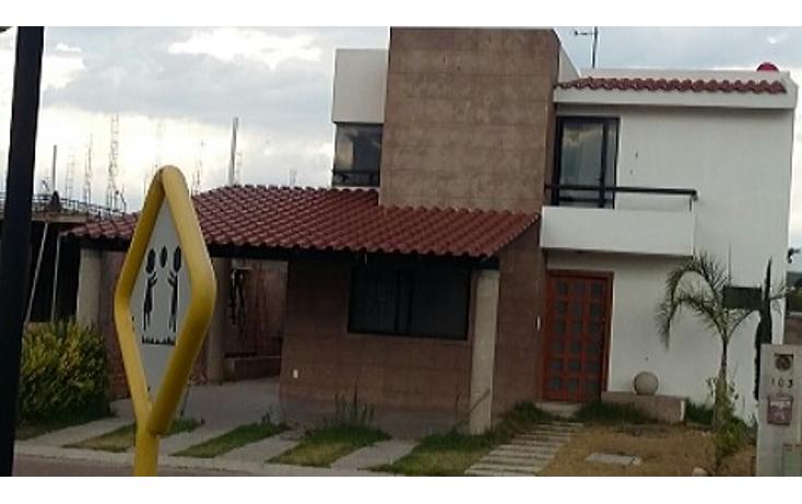 Foto de casa en renta en  , residencial las plazas, aguascalientes, aguascalientes, 1975708 No. 01