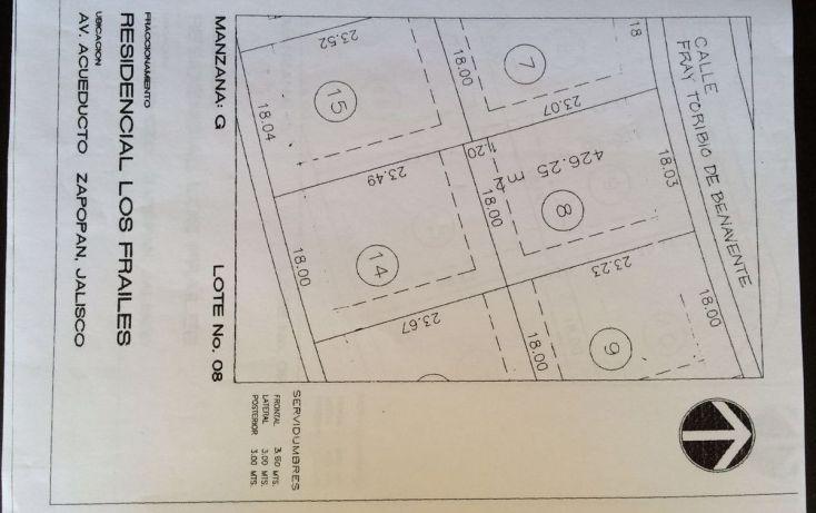 Foto de terreno habitacional en venta en, residencial los frailes, zapopan, jalisco, 1969371 no 03