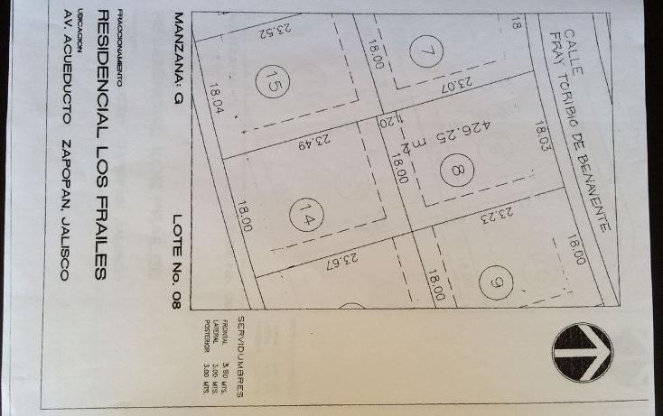 Foto de terreno habitacional en venta en  , residencial los frailes, zapopan, jalisco, 1969371 No. 03