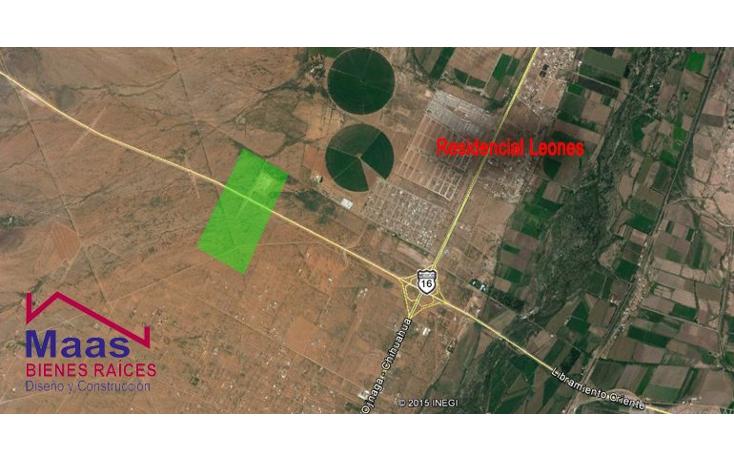 Foto de terreno comercial en venta en  , residencial los leones, aldama, chihuahua, 1717152 No. 02