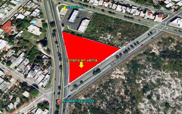 Foto de terreno comercial en venta en  , residencial pensiones i y ii, mérida, yucatán, 1103127 No. 01
