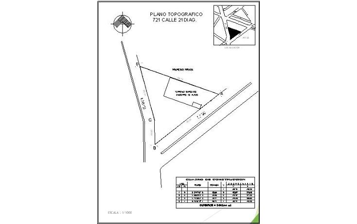 Foto de terreno comercial en venta en  , residencial pensiones v, mérida, yucatán, 1291927 No. 04